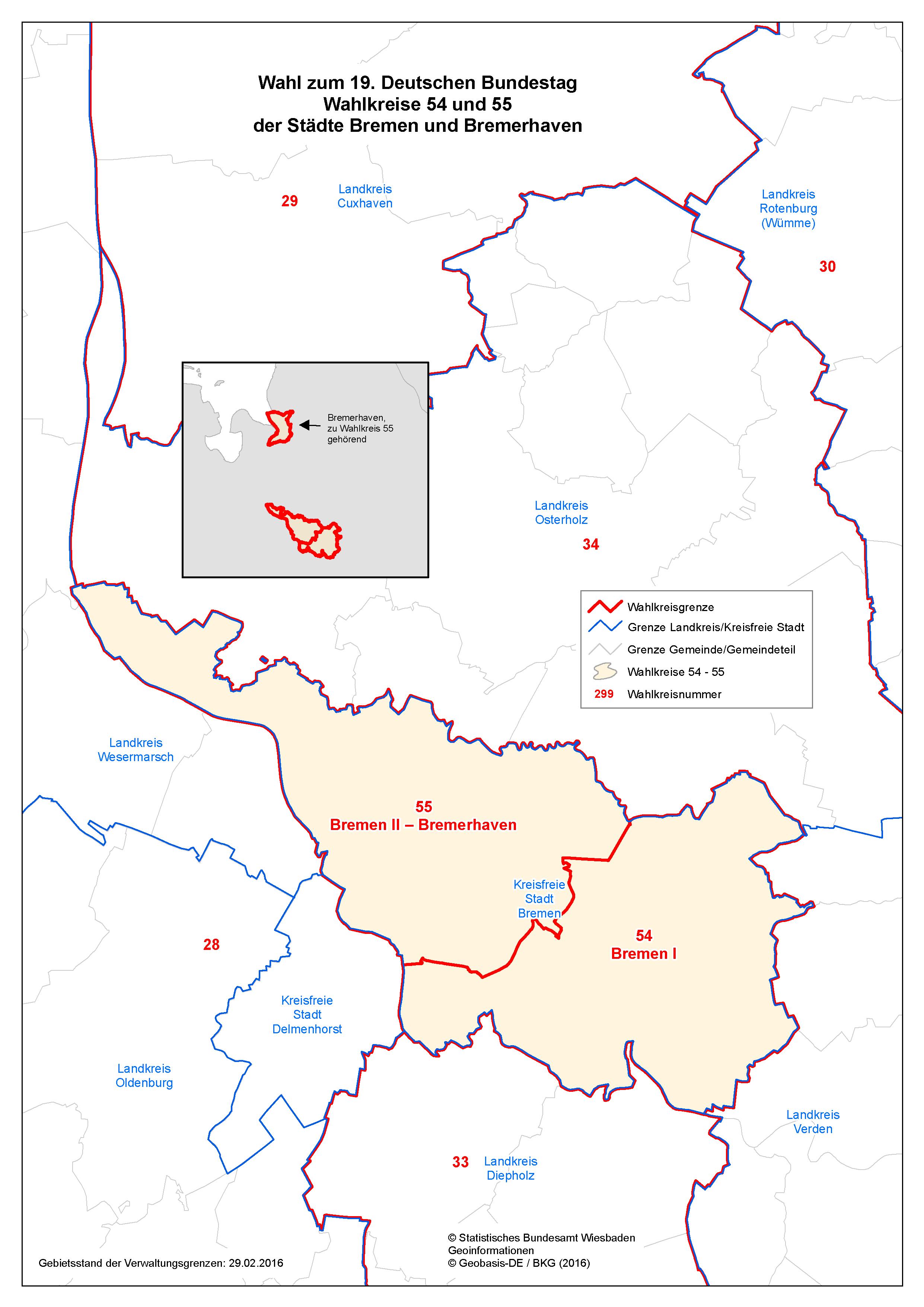 Btw 2021 Wahlkreise
