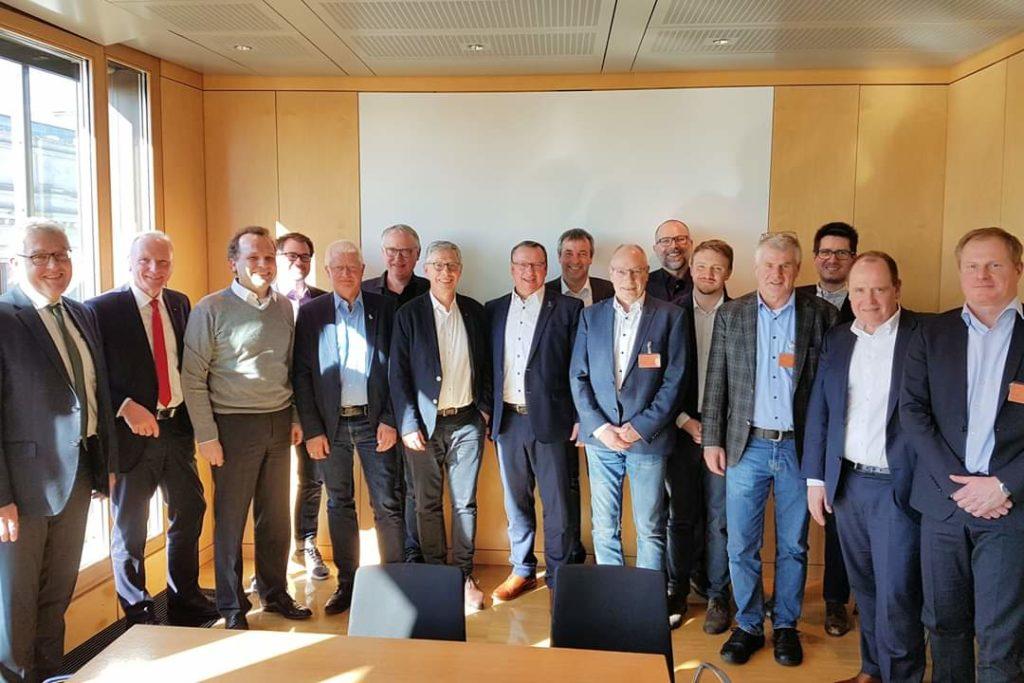 Expertengespräch Industrieumbau Bremen Gruppenbild
