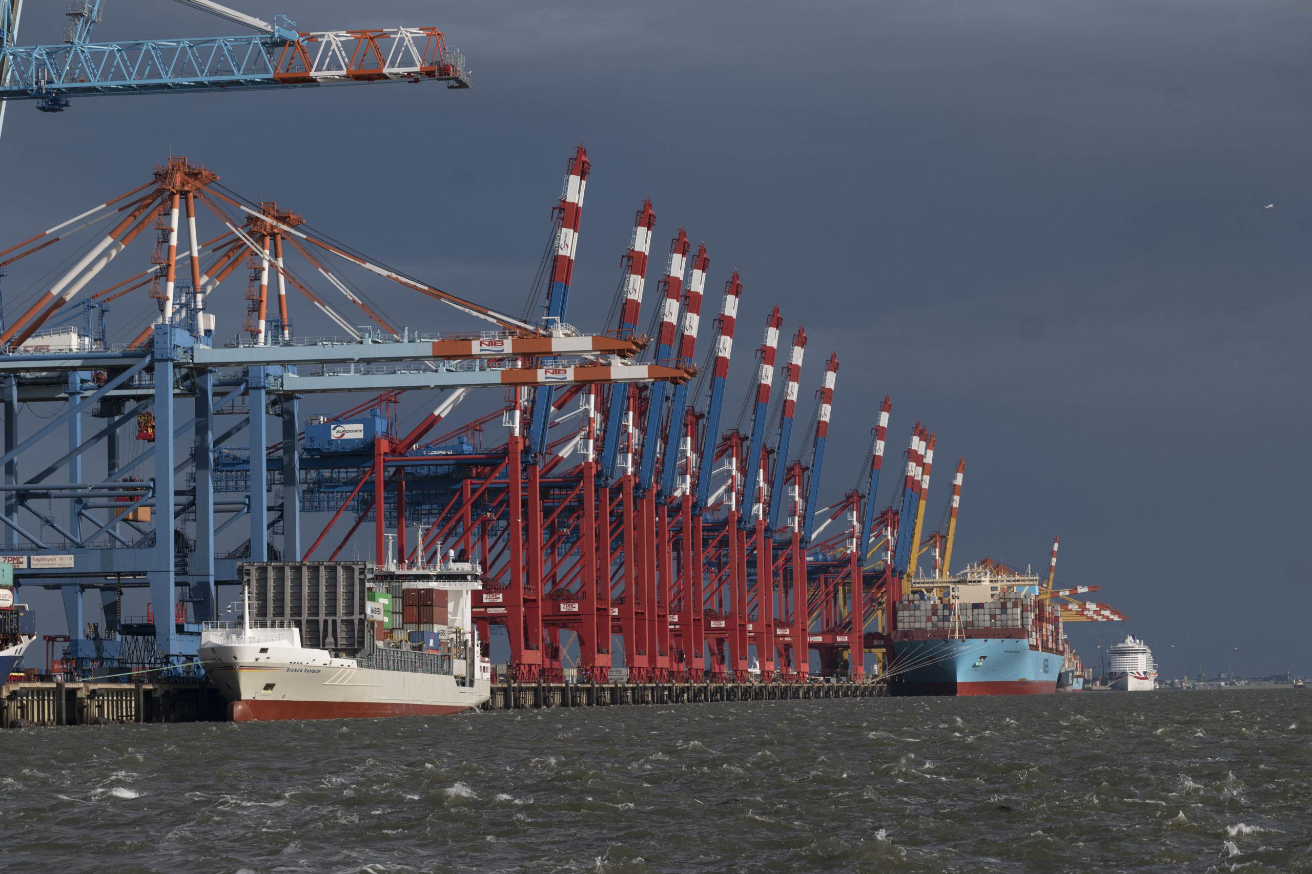 Stromkaje Bremerhaven