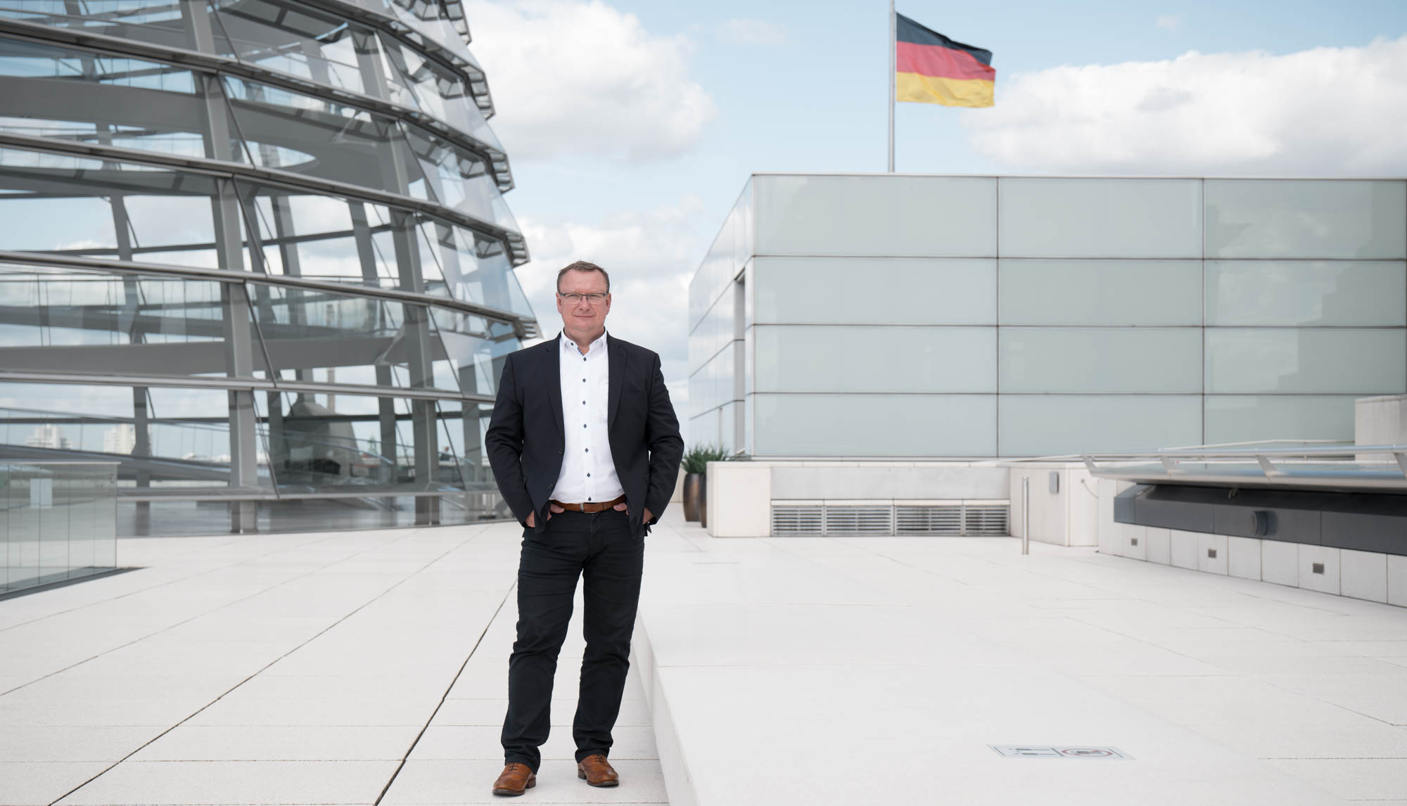 September 2020 MdB Uwe Schmidt, Bundestag Berlin